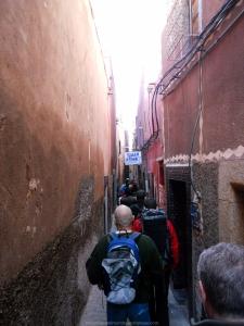 Callejuelas de Marraketch