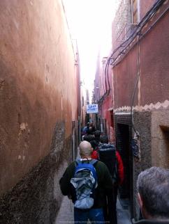 Callejuelas de Marraketch (Marruecos)