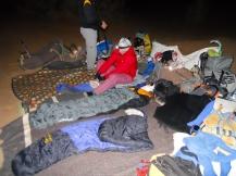Campamento nocturno (vivac)