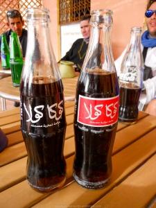 Cocacola en árabe - M'Hamid (Marruecos)