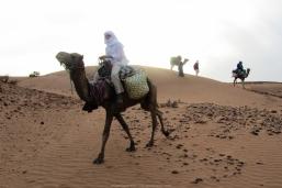 Nómada del Sáhara (Marruecos)
