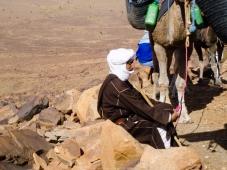 Huseín, guía de la caravana