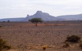 Jbel Bani desde el Valle del Draa (Marruecos)