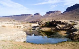 Gueltas del Jbel Bani (Marruecos)