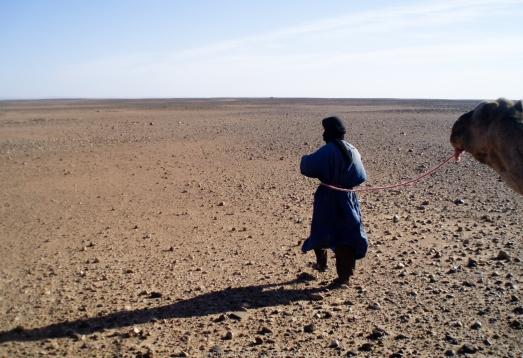 Guía berebere - Sáhara (Marruecos)
