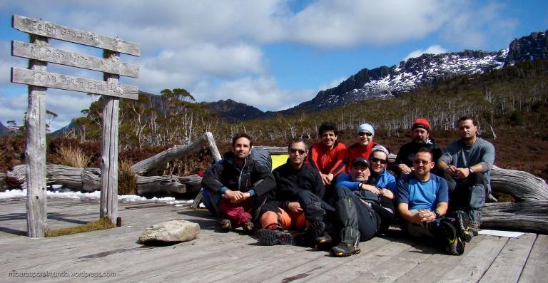 El equipo de asalto - Overland Track (Tasmania)