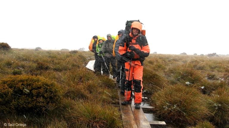 Tormenta en overland track - Tasmania