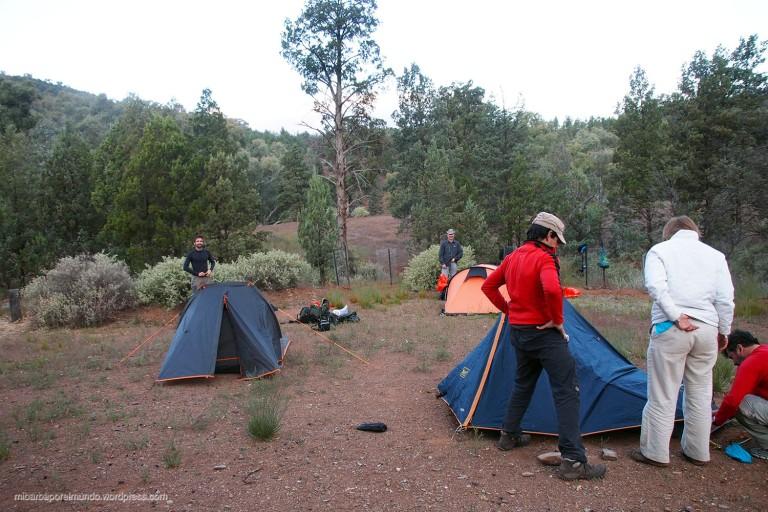 Camping de Aroona Hut - Heysen Trail (Australia)