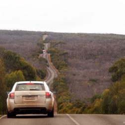 Carretera desde Bunker Hill Lookout - Kangaroo Island (Australia)