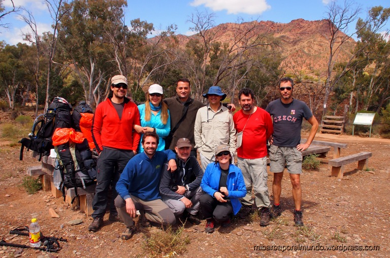 Comienzo Heysen Trail - Outback (Australia)