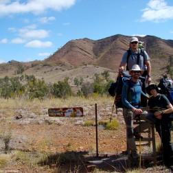 Diego, Mila y Saúl - Heysen Trail (Australia)