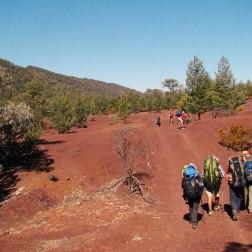 El comando en Heysen Trail (Australia)