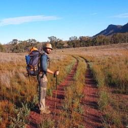 Mi barba en Heysen Trail (Australia)