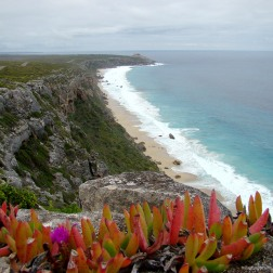 Remarkable Rocks desde Bunker Hill Lookout - Kangaroo Island (Australia)