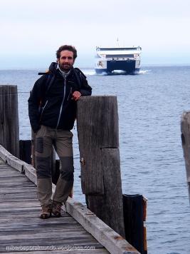 Saúl en Cape Jervis (Australia)
