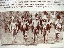 Aborígenes en Angorichina (Australia)