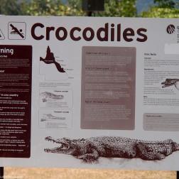 Crocodile Panel - Daintree (Australia)