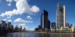 Panorámica de Melbourne (Australia)