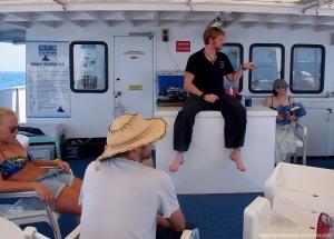 Sun Deck briefing - Kangaroo Explorer (Australia)