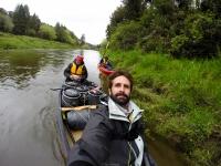 Canoas en Whanganui River - New Zealand