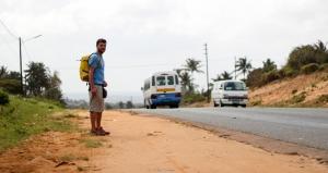 Miki perdido en Quissico (Mozambique)