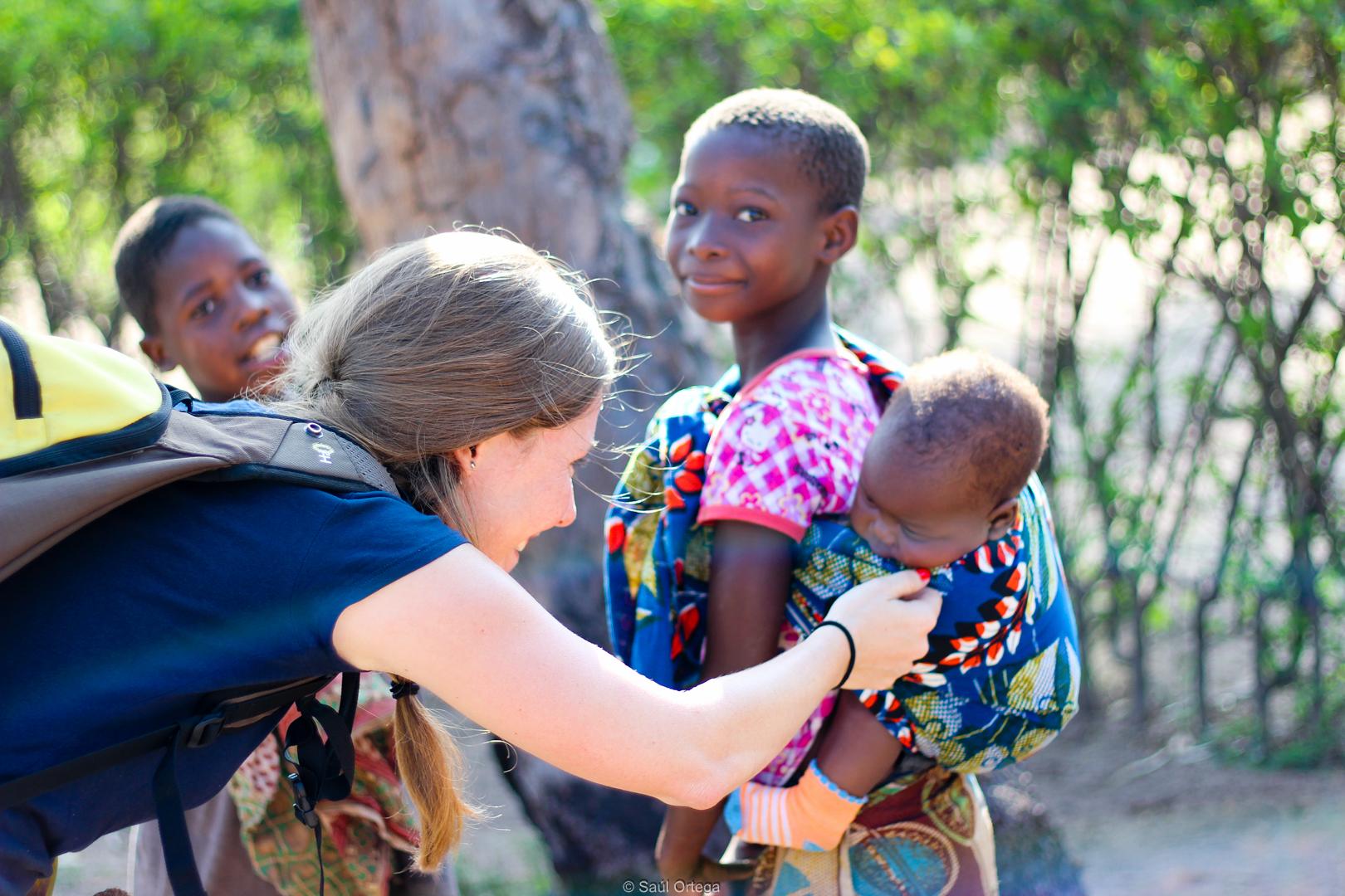 La rubia sociable (Mozambique)