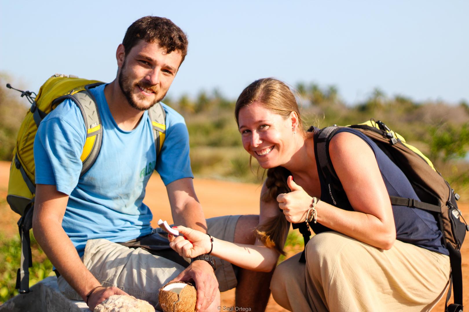Abrir un coco (Mozambique)