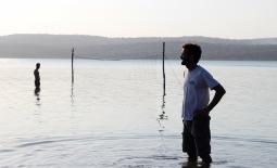 Voley playa en el lago - Quissico (Mozambique)