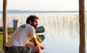 Mi barba al tardecer en el ecolodge LaGoa - Quissico (Mozambique)