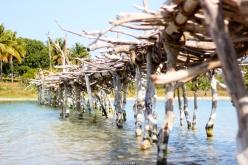 Puente de madera - Lago Quissico (Mozambique)
