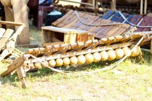 Timbila en el festival de Timbila de Quissico (Mozambique)