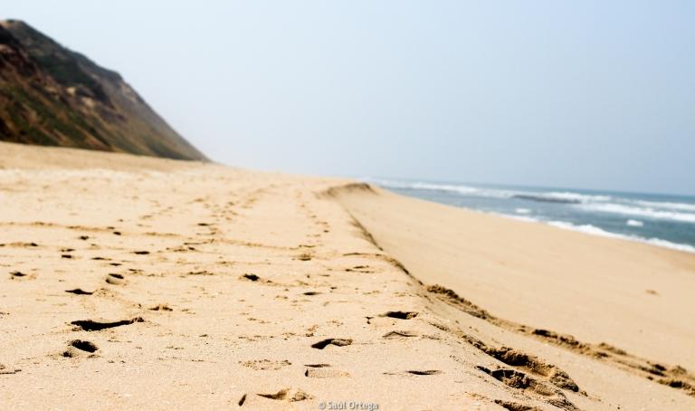Playa cerca del ecolodge - Quissico (Mozambique)