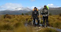 Saúl y Diego en Overland Track (Tasmania)