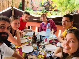Comida en el Garden Pub - Inhambane (Mozambique)