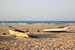 Barcos en la arena - Tofo (Mozambique)