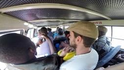 Viajando en chapa por Mozambique