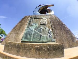 Monumento en Monte do Gozo