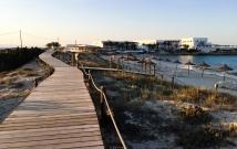 Paseo en Els Pujols (Formentera)