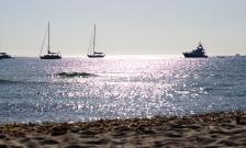 Vistas desde la playa de Illetes (Formentera)