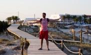 Mi barba en Els Pujols (Formentera)