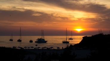 Atardecer en Cala Saona (Formentera)