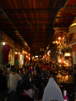 Bazar de Marraketch (Marruecos)