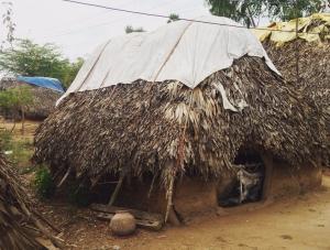 Casa tradicional de la comunidad