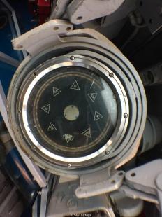 Brújula en el submarino Growler
