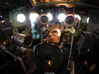 Puesto de mando del submarino Growler