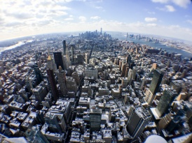 Skyline desde el Empire State Building - New York