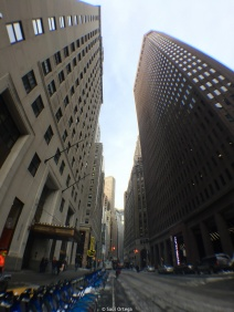 Torres de oficina en Wall Street
