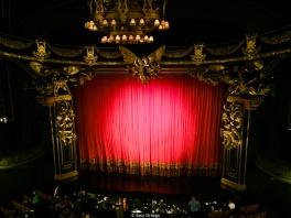El fantasma de la ópera en el Majestic Theatre de NY