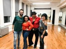 Eddie Torres y María Torres con nosotros