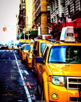 Taxis en Manhattan